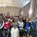 Excited applicants awaiting the presentation in Port Elizabeth