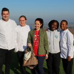 Lise and a group of potential chefs interested in Workaway