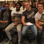 This excited group had a front row seat at our Durban presentation