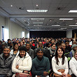 Full house for the first presentation of the season in Cape Town